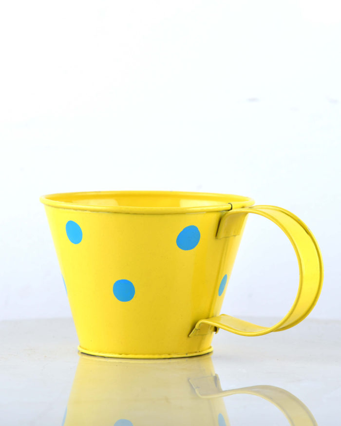 Cup Planter Polka Dot - Unlimited Greens